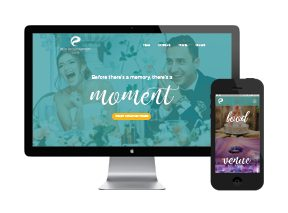 Make Your Moment Website Design for Rich Entertainment Group